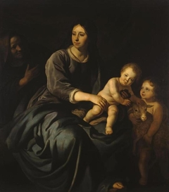 The Virgin Mary with the Infant Christ, St Elizabeth and St John the Baptist