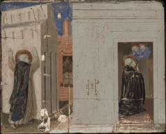 The Vision of Pope Innocent III; Saints Peter and Paul Appearing to SaintDominic