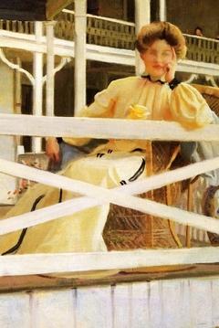 The white veranda (Mrs Paxton)