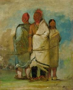Three Fox Indians