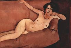 Akt auf Sofa (Almaiisa)