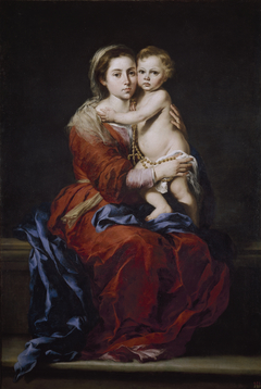 Virgin and Child with a Rosary