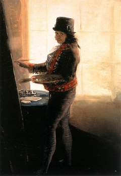 Self-portrait in the Studio