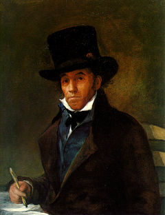 Portrait of Asensio Julià, painter and disciple of Goya