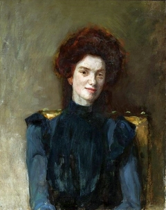 Portrait of a Redhead Woman