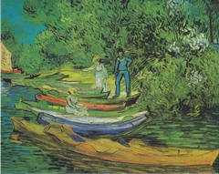 On the banks of the Oise at Auvers