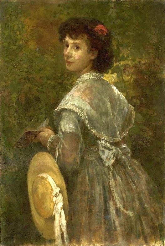 Portrait of artist's sister