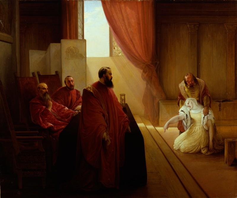 Valenza Gradenigo before the Inquisition