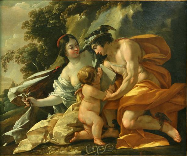 Venus, Mercury and Cupid