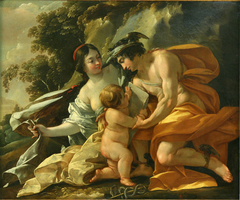 Venus, Mercury and Cupid