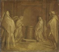 Verkündigung der Geburt Johannes (Kopie nach)