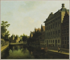 View of the Kloveniersburgwal with the Waag and the Trippenhuis, Amsterdam