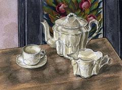 Vintage Child's Tea Set