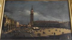 Vue de la place Saint-Marc à Venise