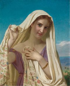 Young Girl in a Veil