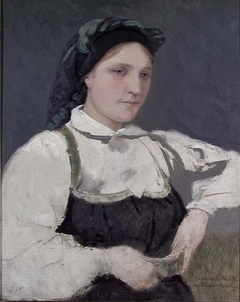 Young Woman in Costume from Setesdal