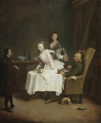 A Meal at Home