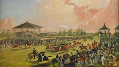 A Race Meeting at Jacksonville, Alabama