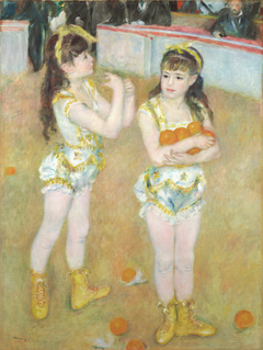 Acrobats at the Cirque Fernando (Francisca and Angelina Wartenberg)