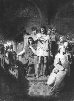 Anno 1393. Willem van Gelre eist dat zijn neef tot bisschop van Utrecht wordt gekozen
