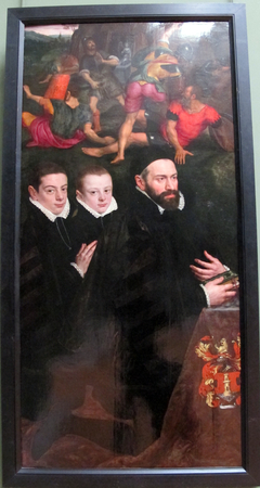 Antonio del Rio, Lord of Aertseleer, and His Two Sons
