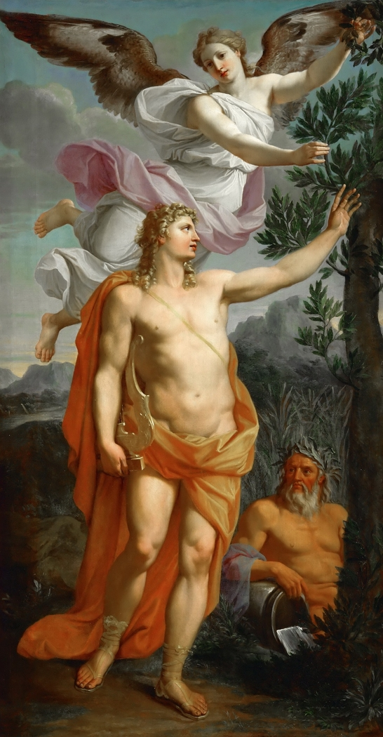 Apollo Crowned by Victory