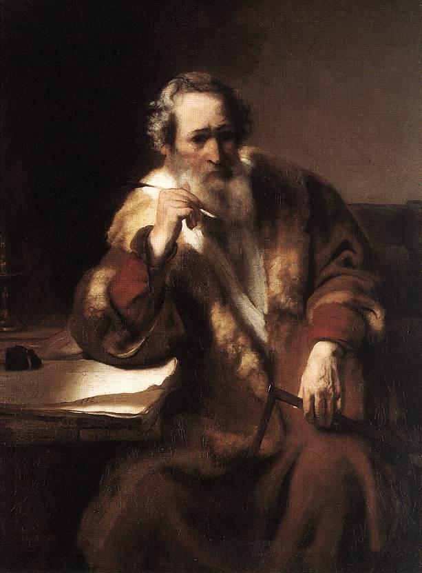 Apostle Thomas, Architect, or Scholar at his Desk