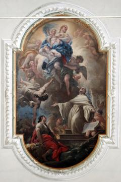 Apparition of the Virgin to Saint Bernard
