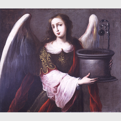 Archangel with a Symbol of the Immaculate Conception