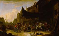 Bauernfest in der Römischen Campagna