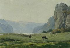 "Beraun (aus der Mappe ""16 Ansichten tschechischer Landschaften 'Česka Krajiná'"")"