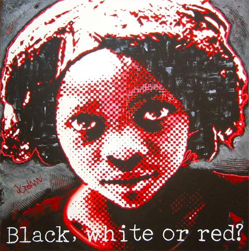 Black White or Red