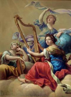 Calliope, Urania and Terpsichore