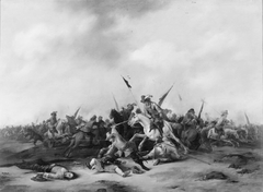 Cavalry and Infantry Skirmish