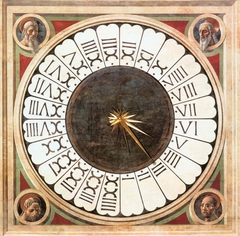 Clock at Florence Cathedral