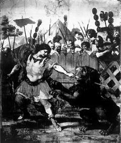 Constantine Slaying the Lion