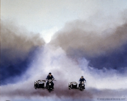 COURSE DE CHARS - Wagon race - by Pascal