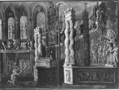 David im Tempel