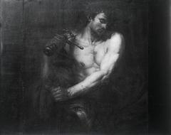 David mit dem Haupt Goliaths (zugeschrieben)