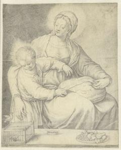 De Heilige Maagd met het kind