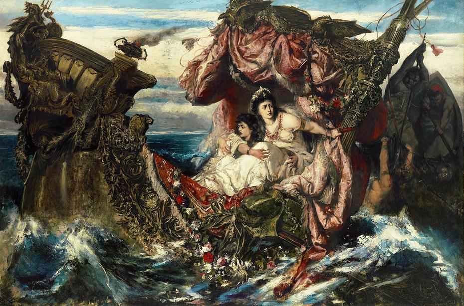 Der Schiffbruch der Agrippina