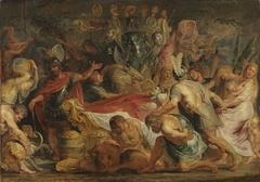 Die Leichenfeier des Decius Mus (?)