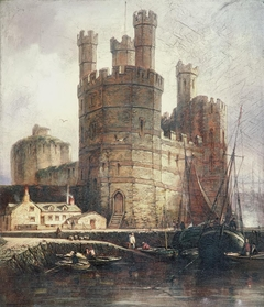Eagle Tower, Caernarvon Castle