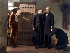 Emperor Maximilian of the Mexico before the Execution