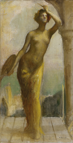 Esquisse pour le salon des Arts de l'Hôtel de Ville de Paris : La Peinture