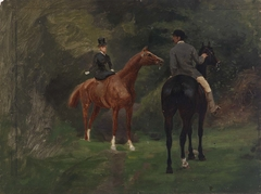 Figures on Horseback