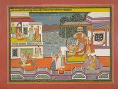 Folio from the Gita Govinda.
