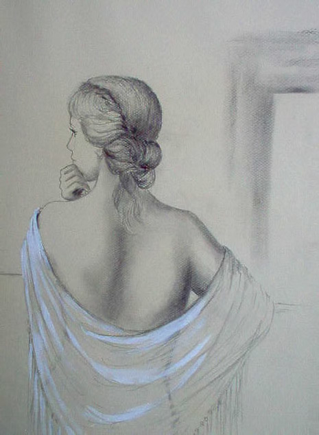 girl in écharpe
