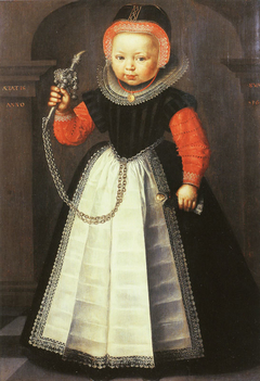 Girl with Rattle