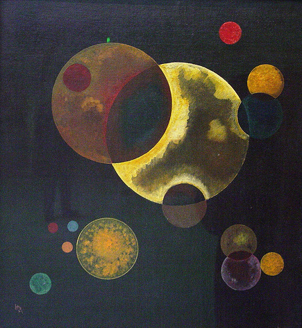 Heavy Circles Wassily Kandinsky Artwork On Useum